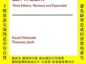 二手書博民逛書店【罕見】Introduction To Set Theory, Third Edition, Revised An