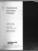 二手書博民逛書店 《Fundamental Accounting Principles》 R2Y ISBN:9780071122221│McGraw-Hill College