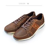 Waltz-磨砂皮透氣休閒男鞋622108-23咖