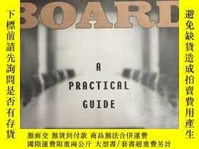 二手書博民逛書店Chairman罕見of the Board: A Practi