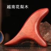 刮痧板 三角雀經絡刷腳底按摩器點穴棒 木質手動足底穴位按摩棒刮痧儀器 漫步雲端
