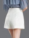 西裝短褲白色短褲女夏2020年新款高腰a字顯瘦寬松闊腿外穿黑色西裝休閑褲【全館免運八五折】