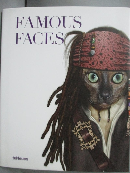 【書寶二手書T8/兒童文學_LLH】Famous Faces_Takkoda (ART)/ Burns, Christi