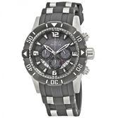 瑞士Invicta Pro Diver 潛水員系列 單向旋轉錶盤 三眼日期窗男錶 23698瑞士錶 計時碼表 男士手錶