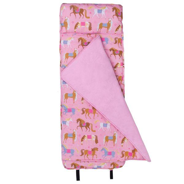 【LOVEBBB】 無毒幼教睡袋 符合美國標準 Wildkin 28708 凱莉小馬 Nap Mat 午睡墊(3-7歲)