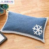 枕頭 蕎麥枕頭可愛女生韓式枕頭護頸椎學生宿舍枕芯蕎麥皮喬麥枕頭單人 布衣潮人YJT