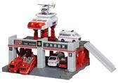 TOMICA Build City聲光消防署_TW87439 (不含小汽車及直昇機需另購)多美小汽車