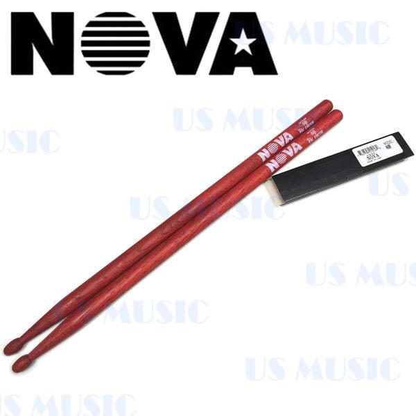 【非凡樂器】NOVA 爵士鼓棒 5B / 紅色 Vic Firth副廠