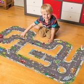 orchard toys高速公路軌道火車兒童紙質拼圖益智玩具3-4-6-7歲男