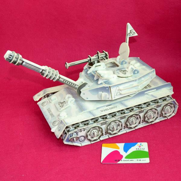 外盒壓傷NG福利品 3D立體拼圖專賣店 飛機坦克航艦 雪地裝甲坦克戰車 可動式 卡樂保