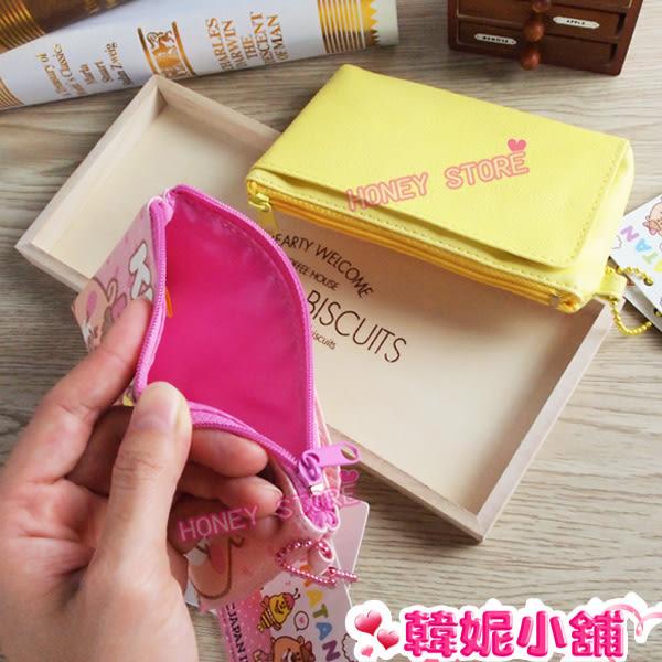 韓妮小舖  正版授權 WC熊 零錢包 鑰匙包 收納包 拉鍊袋【HD3292】