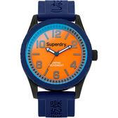 【台南 時代鐘錶 Superdry】極度乾燥 美式和風 文化衝擊潮流腕錶 Tokyo系列 SYG146UO 48mm