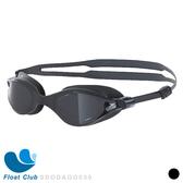 【Speedo】成人運動泳鏡 V-class (黑) SD8109657649