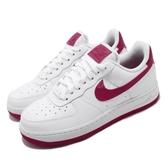 Nike 休閒鞋 Wmns Air Force 1 07 白 紫紅 女鞋 基本款 AF1 【PUMP306】 AH0287-107
