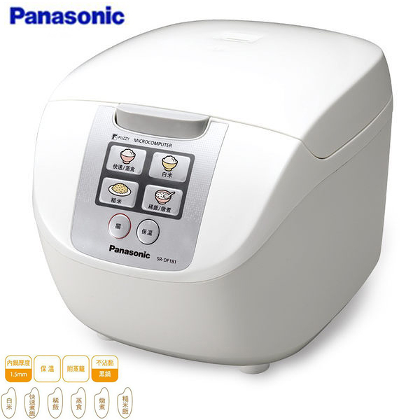 Panasonic 國際牌 10人份微電腦電子鍋 SRDF181