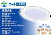 木林森 LED超薄型崁燈 15w 免運免運 白光/黃光 戰鬥款超殺  通過台灣CNS國家認證