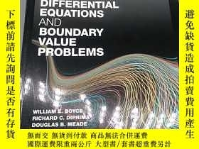 二手書博民逛書店Boyce s罕見Elementary differenial equaions and boundary val