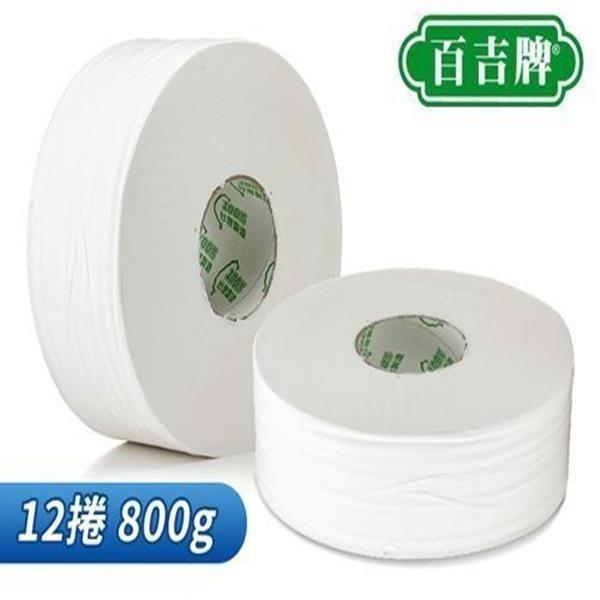 【南紡購物中心】百吉牌大捲筒衛生紙800g*3捲*4串/箱