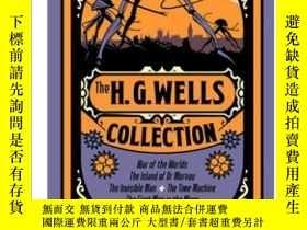 二手書博民逛書店The罕見H. G. Wells Collection 英文原版