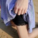(全館免運) - 內搭短褲/安全褲 防走光蕾絲網紗內搭安全褲 407