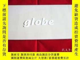 二手書博民逛書店globe罕見Relation 99年演唱會場刊Y178456