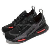 adidas 休閒鞋 NMD_R1 Spectoo 黑 紅 Boost 男鞋 愛迪達 【ACS】 FZ3204