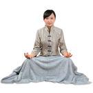 竹炭超細纖維柔軟靜坐/居家毛毯 (75x150cm) RM-10366
