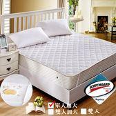 保潔墊  3M超效防汙防潑水 單人加大 平式保潔墊(白) / Gloria