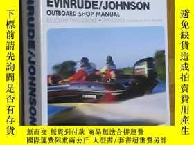 二手書博民逛書店Evinrude Johnson罕見85-300 HP Two-Stroke (1995-2002) 大16開