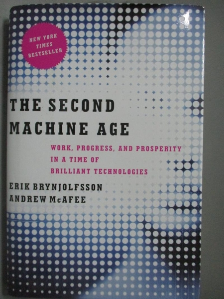 【書寶二手書T9/財經企管_ZDR】The Second Machine Age: Work, Progress, an