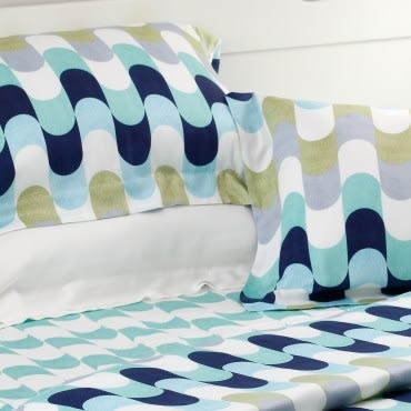 HOLA home歐繪莫代爾床包枕套組 雙人