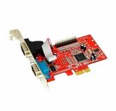【超人百貨K】Awesome AWD-9901PR2 PCI-E1埠Printer+ 2埠RS-232 I/O卡