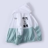 防曬衣服男士2020新款潮流夏季超薄透氣戶外冰絲韓版百搭夾克外套