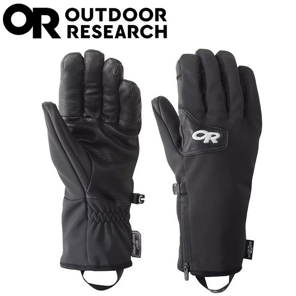 【Outdoor Research 美國 男 STORMTRACKER SENSOR 防風防水手套《黑》】244881/保暖手套