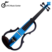 ★JYC Music★JYC SV-150S靜音提琴(藍色)~雙輸出/三段EQ