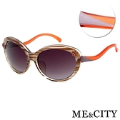 【南紡購物中心】【SUNS】ME&CITY 義式古典流線型太陽眼鏡 抗UV(ME 120008 J522)