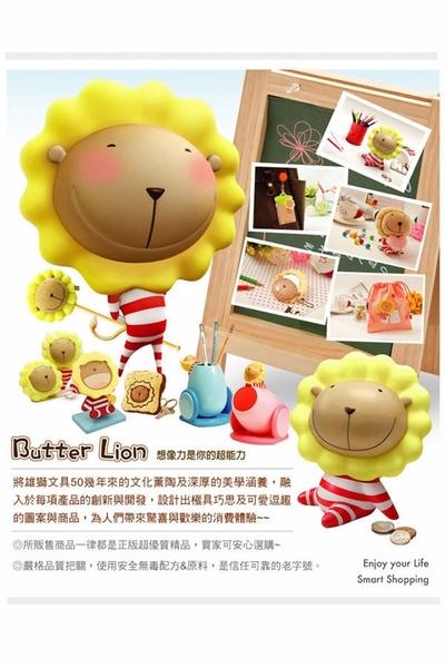 【雄獅】PB-307 奶油獅雙層筆袋(紅色)