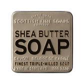 伊聖詩|蘇格蘭泡泡 乳油木果潤膚鐵盒香氛皂 100g