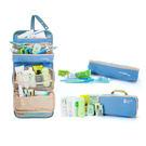 旅行收納盥洗化妝包(藍色)