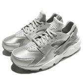 【五折特賣】Nike 武士鞋 Wmns Air Huarache Run 銀 白 銀武士 女鞋 運動鞋【PUMP306】 859429-002
