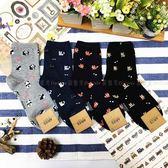 【KP】韓國 22-26cm 滿版 可愛小動物 熊貓 貓咪 狐狸 柴犬 成人襪 直版襪 襪子 DTT100007736
