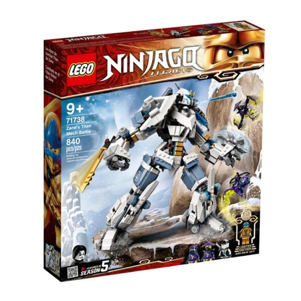 71738【LEGO 樂高積木】Ninjago 旋風忍者系列 - 冰忍的鈦機械人之戰