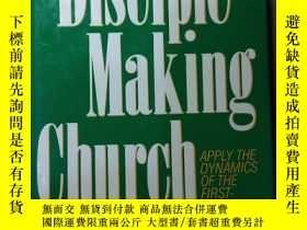 二手書博民逛書店英文原版:The罕見Disciple Making Church