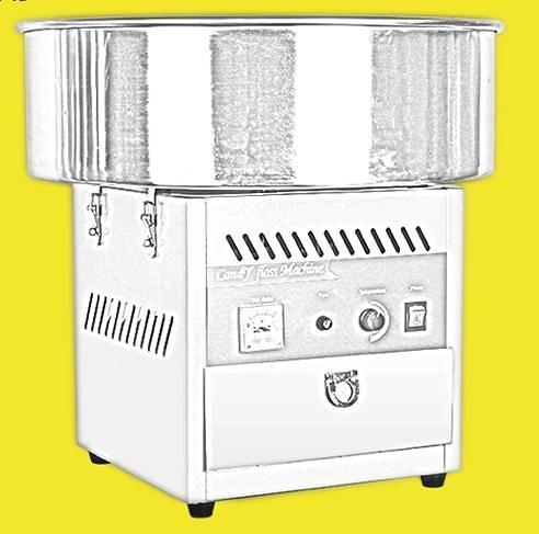棉花糖機    棉花糖機 電動全自動擺攤用兒童花式棉花糖機器拉絲作機 莎瓦迪卡
