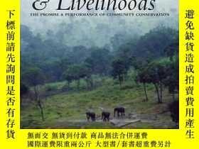 二手書博民逛書店African罕見Wildlife and Livelihood