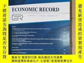二手書博民逛書店economic罕見record 2017年12月英文版Y42402