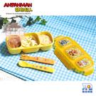 日本 ANPANMAN 麵包超人-AN麵包超人離乳食分隔餐盒(M) LEC043404