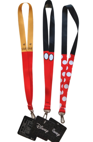 【卡漫城】 寛版 頸繩 三選一 ㊣版 手機吊繩 識別證掛繩 Mickey Minnie 米老鼠米奇米妮 維尼熊 Pooh