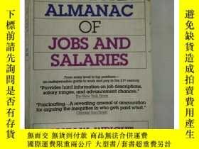 二手書博民逛書店罕見~ 外文書 The American Almanac of Jobs and SalariesY20521