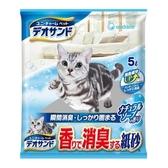 【Unicharm】日本消臭大師強力消臭紙砂-沐浴香5L